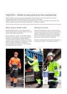Näkyvyyttä vaativiin töihin - HighVisPro-mallisto ja henkilönsuojaimet - Page 3