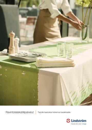 Ravintolatekstiilipalvelut - Tarjoile laadukas kokemus asiakkaalle