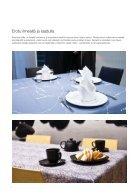 Ravintolatekstiilipalvelut - Tarjoile laadukas kokemus asiakkaalle - Page 4