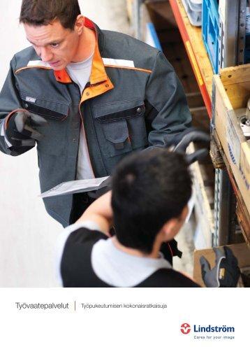 Työvaatepalvelut - Työpukeutumisen kokonaisratkaisuja