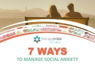 7 Ways to Manage Social Anxiety