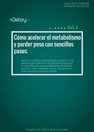 Dietaryplus. COMO ACELERAR EL METABOLISMO
