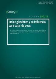 Dietaryplus. EL INDICE GLUCÉMICO Y SU INFLUENCIA PARA BAJAR DE PESO
