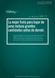 Dietaryplus. LA MEJOR FRUTA PARA BAJAR DE PESO