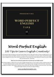 Word Perfect English