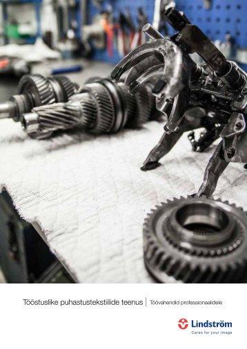 Tööstuslike puhastustekstiilide teenus - Töövahendid professionaalidele