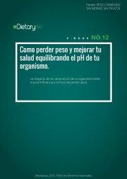 Dietaryplus. COMO PERDER PESO CONTROLANDO EL PH