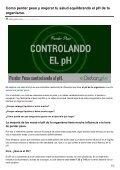 Dietaryplus. COMO PERDER PESO CONTROLANDO EL PH - Page 2