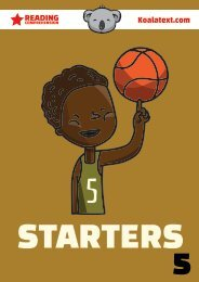 STARTERS 5