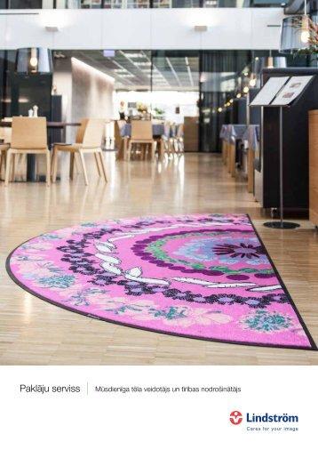 Paklāju serviss - Mūsdienīga tēla veidotājs un tīrības nodrošinātājs