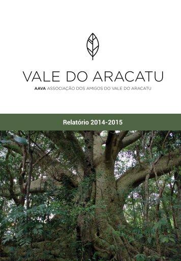 Relatório de Atividades AAVA 2014-2015