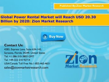 Power Rental Market