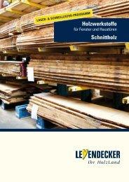 Leyendecker - Holz- und Werkstoffe für Hautüren und Fenster