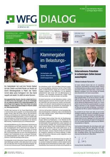 Klammergabel im Belastungs- test - WFG am Mittelrhein mbH