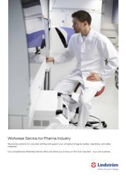 Workwear Service for Pharma Industry