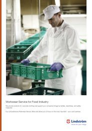 Workwear Service for Food Industry