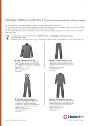 Chemical Protective Collection - Protective workwear against small liquid splashes