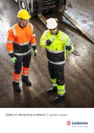 Safety for demanding conditions - HighVisPro collection