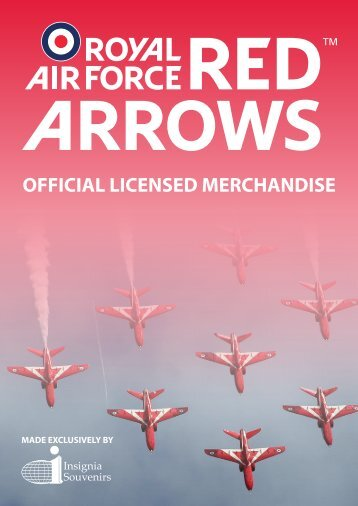 International Insignia Red Arrows Merchandise