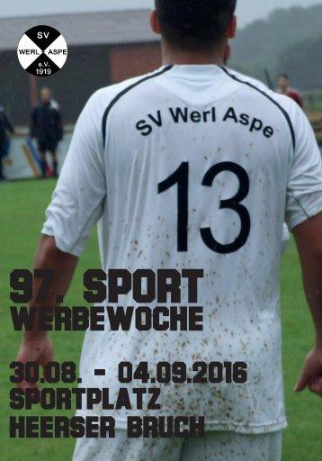 97. Sportwerbewoche SV Werl-Aspe 2016