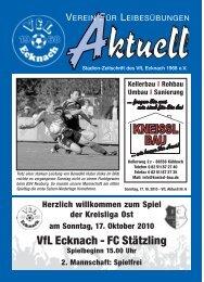 VfLAktuell_06_10/11 - VfL Ecknach