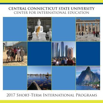 2017 Short-Term International Programs