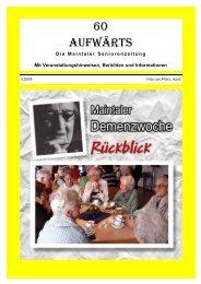 buchhandlung thielemann-kraft - aktive Senioren in Maintal