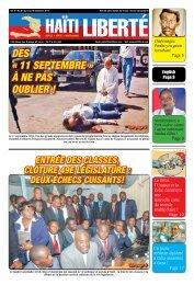 Haiti Liberte 10 Septembre 2014
