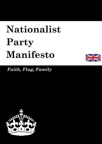Nationalist Manifesto