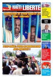 Haiti Liberte 29 Octobre 2014