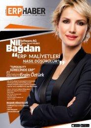 ERP HABER Dergisi Ağustos 2016 sayısı