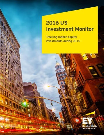 2016 US Investment Monitor