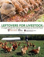 LEFTOVERS FOR LIVESTOCK