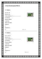Schrittweises Lösen linearer Gleichungssysteme nach den drei Rechenverfahren - Page 5