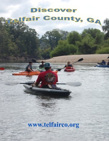 Flip Book Publication Discover Telfair County, GA July 2016
