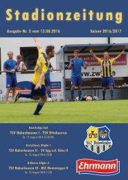201600813 Stadionzeitung TSV Babenhausen - TSV Ottobeuren