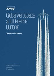 Global Aerospace and Defense Outlook