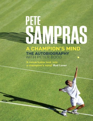 A Champion's Mind - Pete Sampras