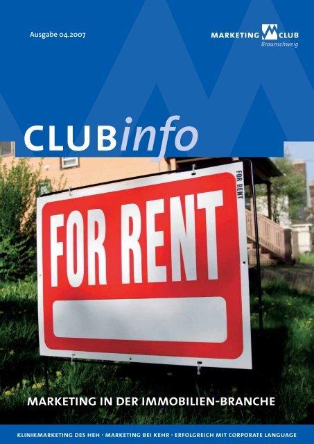 marketing in der immobilien-branche - Marketing-Club Braunschweig