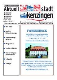 Gesangverein Eintracht Kenzingen