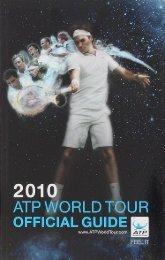 2010 ATP World Tour Official Guide