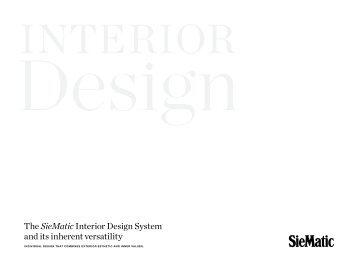 SieMatic Interior Design System