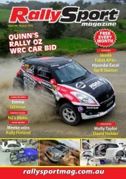 RallySport Magazine August 2016