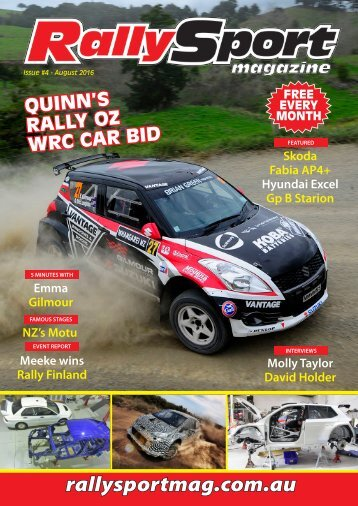 RallySport Magazine August 2016