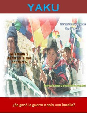 Bolivia, La Guerra del Agua