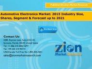 automobile electronics market