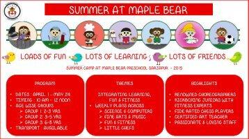 Summer camp 2015