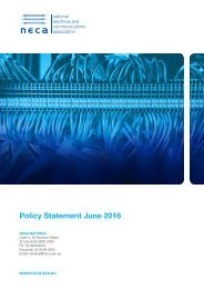 Policy Statement June 2016