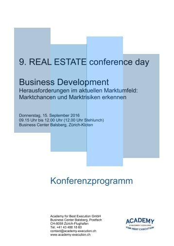 Programm Business Development