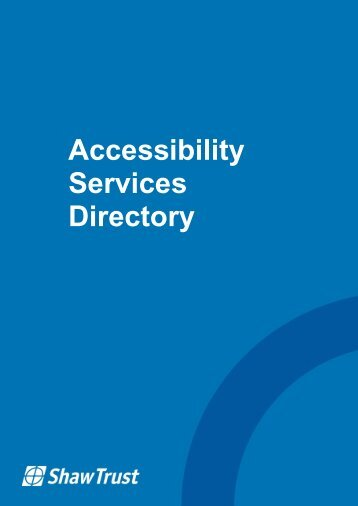 Accessibility Services Directory